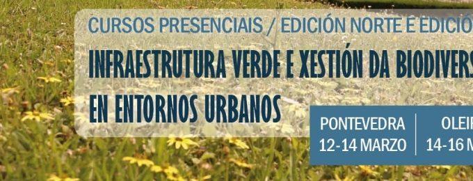 Curso Infraestructura Verde y Gestión de la Biodiversidad en Entornos Urbanos