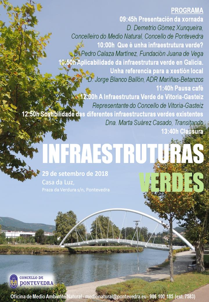 Jornada Infraestructuras Verdes en Pontevedra