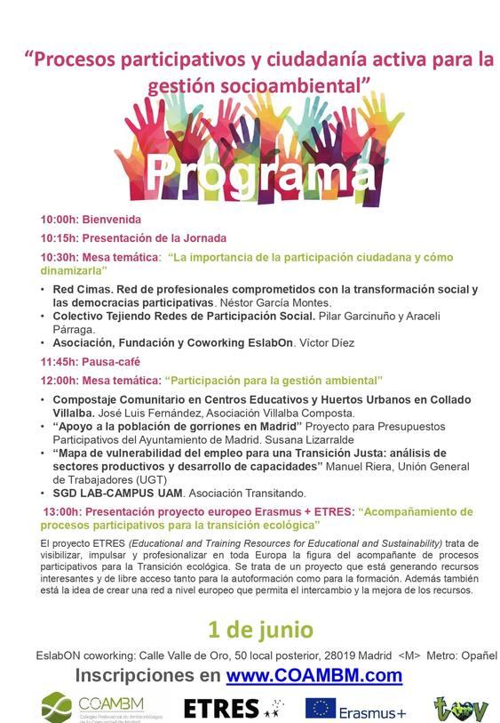 Procesos participativos y ciudadanía activa para la gestión socioambiental
