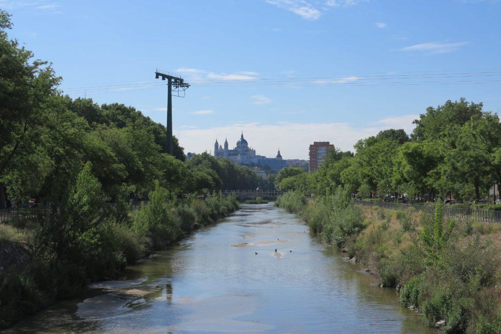 Renaturalización desde Pasarela de Almuñercar